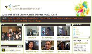 NGEC's Online Learning Community on Ning